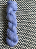 FIRST OFFICER -- Broadway silver sparkle sock yarn -- ready to ship