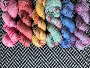 I <3 NY T-SHIRT COLLECTION *6 Skein Set* -- dyed to order yarn