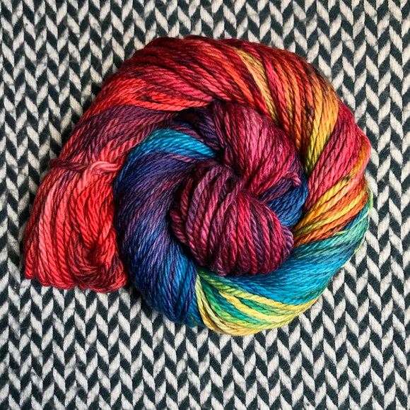 DUSK RAINBOW -- Flushing Meadows yarn -- ready to ship