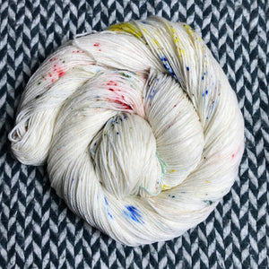IN TRANSIT -- Times Square sock yarn -- ready to ship