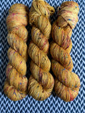 QUEEN BEE -- Alphabet City tweed sock yarn -- ready to ship