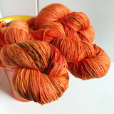 PUNKIN CHUNKIN -- dyed to order yarn