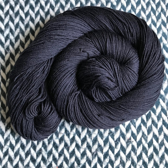 NIGHT SMOKE -- Times Square sock yarn -- ready to ship