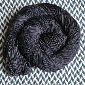 NIGHT SMOKE -- Harlem sock yarn -- ready to ship