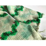 CHRISTMAS GARLAND -- hand-painted sock blank -- dyed to order yarn