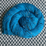 STRUT -- Alphabet City tweed sock yarn -- ready to ship
