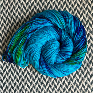 MERMAID PARADE -- Brooklyn Bridge worsted weight yarn -- ready to ship