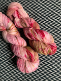 FIELD OF ROSES -- dyed to order yarn