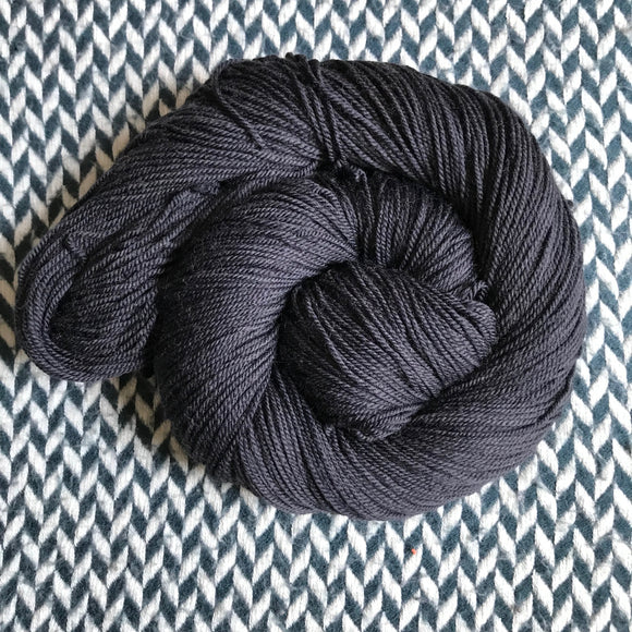 NIGHT SMOKE -- Randall's Island sport yarn -- ready to ship