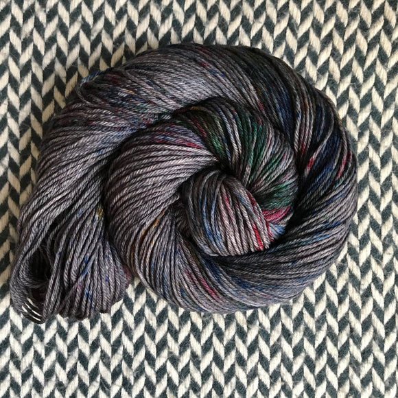 BEJEWELED SLATE -- Brooklyn Bridge worsted weight yarn -- ready to ship