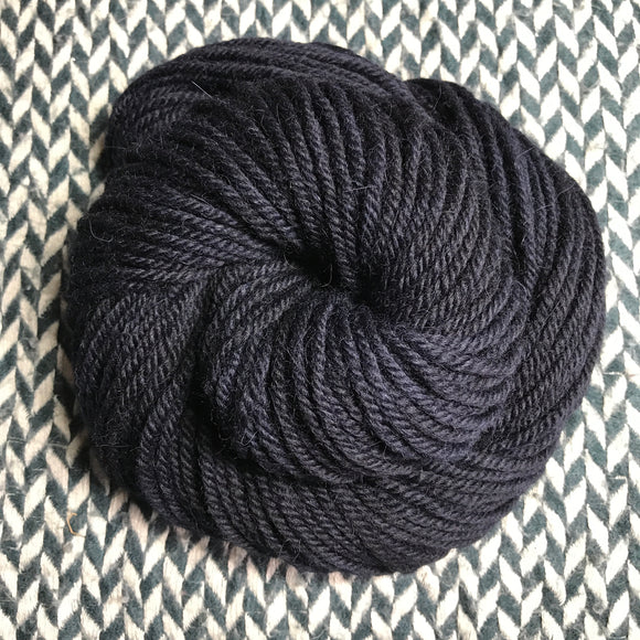 SMOKE -- Pelican Bay bulky nonsuperwash yarn -- ready to ship