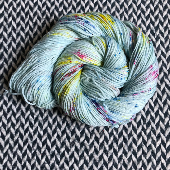 OCEAN OF YOUR BUTTERFLIES -- Kew Gardens DK yarn -- ready to ship