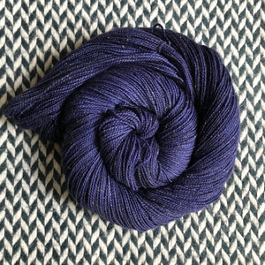 NAVY STORM -- dyed to order yarn