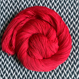 FLAMBE PUREE -- dyed to order yarn