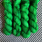 JALAPEÑO POPPERS -- Times Square sock yarn -- ready to ship