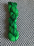 JALAPEÑO POPPERS -- Broadway sparkle sock yarn-- ready to ship