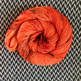 PUNKIN CHUNKIN -- Broadway sparkle sock yarn -- ready to ship