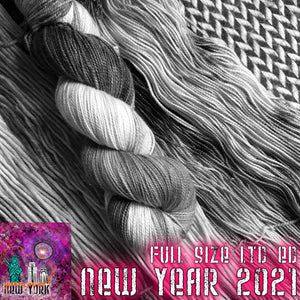 NEW YEAR 2021 -- Limited Edition -- pre-order hand-dyed yarn