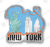 YONY SKYLINE COLLECTIBLE ENAMEL PIN -- pre-order