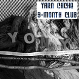 YARN CACHE -- 3 Month Yarn Club -- pre-order hand-dyed yarn