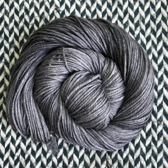 TARNISHED SILVER -- Brooklyn Bridge worsted yarn -- ready to ship