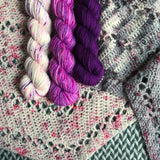 HAPPY DANCE *3 Half-Skein Set*-- Times Square sock yarn --ready to ship