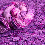 BUBBLEGUM DANCE -- Tribeca sparkle DK yarn -- ready to ship