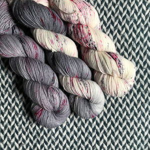 I LOVE NY in the RAIN *3 Skein Set*-- Harlem sock yarn -- ready to ship