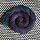 BLACK OPAL -- dyed to order yarn