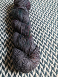 BEJEWELED LAVA -- Broadway sparkle sock yarn-- ready to ship