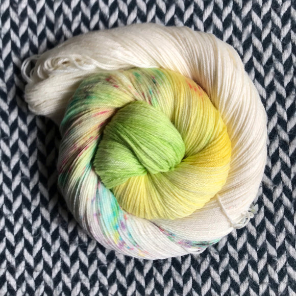 DANCING BY MYSELF -- dyed to order yarn