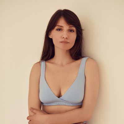 The SMOOTH Bra | Blue - NALU