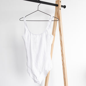 The BASIC Bodysuit | White [Archive Sale] - NALU