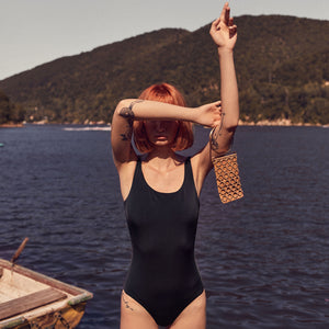 The BASIC Swimsuit | Black - NALU