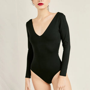 The SUAVE Bodysuit | Black - NALU