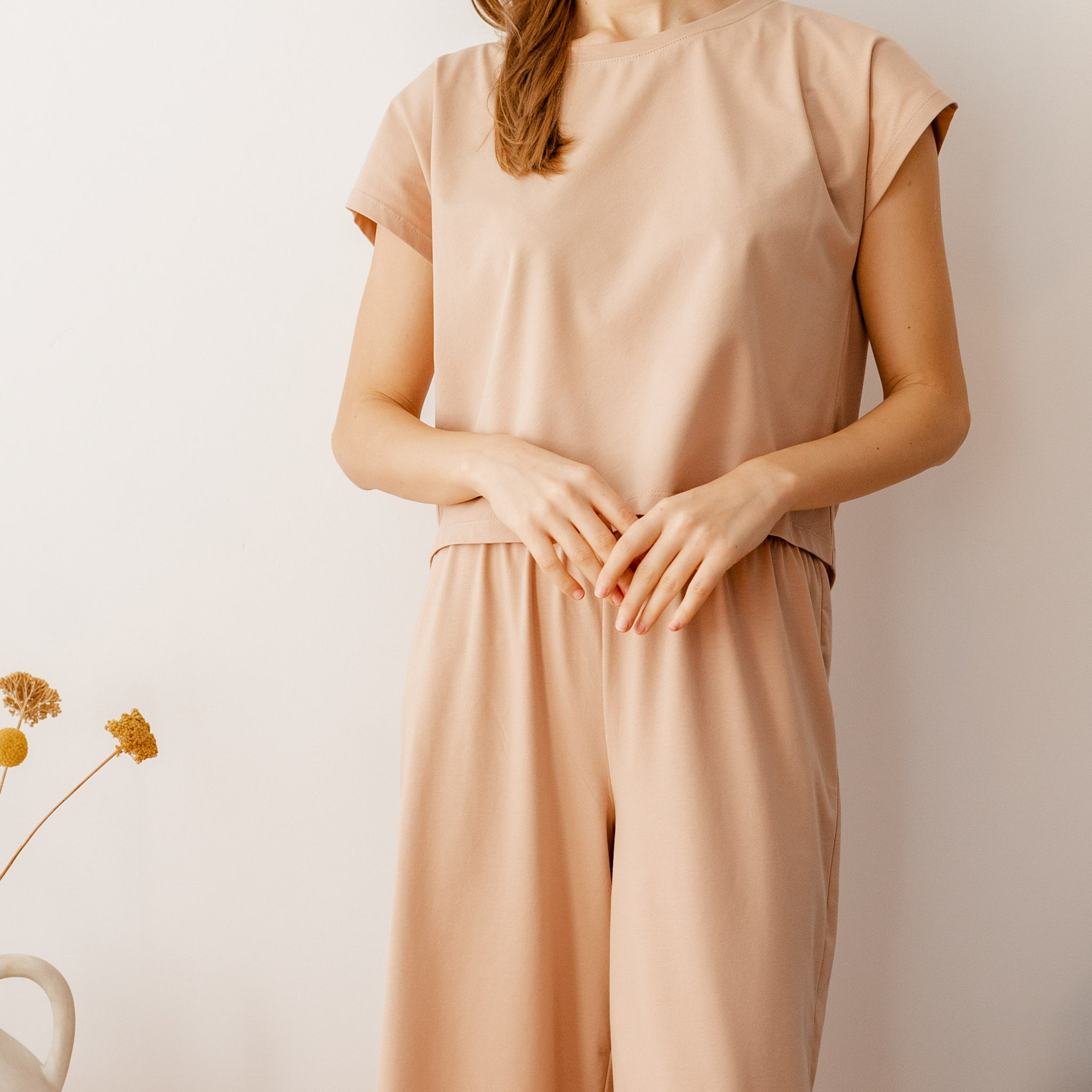 The SERENE Tee | Nude - NALU
