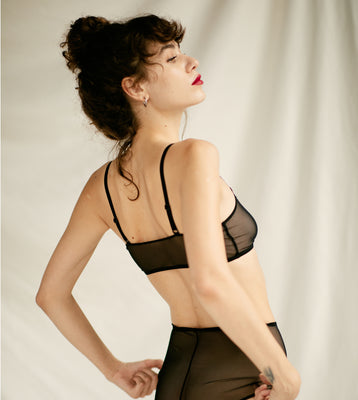 The LIGHT Bra | Black - NALU