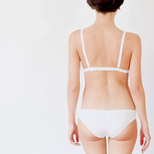 The BASIC Bra | White