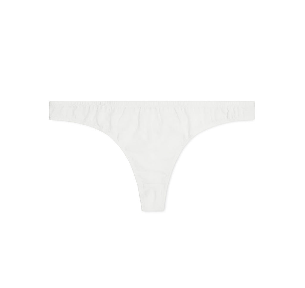 The BASIC Thong | White - NALU
