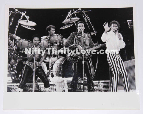 1984 Michael Jackson Victory Tour Original Press Release Photo