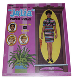 Nifty Thrifty Love 1971 Diahann Carroll as Julia Paper Doll Book