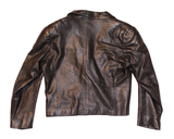 Black Knight Leather Blazer M