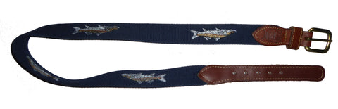 Catch of The Day Needlepoint Belt 34