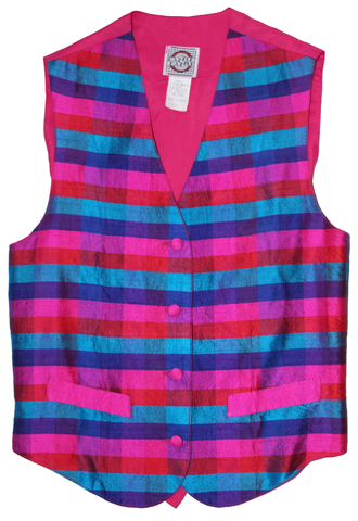 Nifty Thrifty Love Vintage Silk Vest