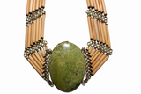 Epidote Earth Necklace