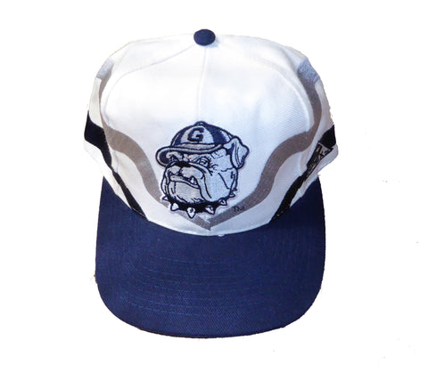 Nifty Thrifty Love Vintage Georgetown Apex Snapback Hat