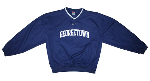 Nifty Thrifty Love Vintage Georgetown Nike Team Warm Up Jacket M