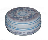 Native American Handpainted Etched Trinket Box
