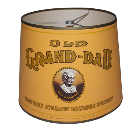 Old Grand-Dad Whiskey Lamp Shade