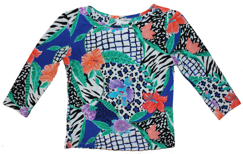 Jungle Blossom Top S